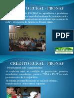 CRÉDITO RURAL - PRONAF AGROINDÚSTRIA.pptx