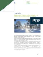 Tax alerte Tunisie