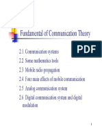 Fundamentals of Communication Theory