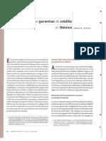 Las Garantías de Crédito en México