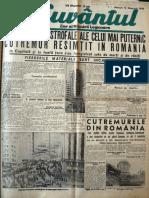 Cuvantul anul XVII (serie noua ) nr. 31, 13 noembrie 1940
