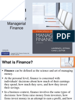 Chapter 1.Role of Managerial Finance