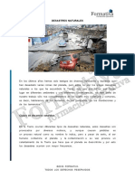 3.- Desastres naturales