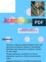 6. Accidentes cortopunzantes