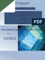 Descripcion Norma E-040 Vidrio