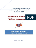 Manual SIADEG - Requerimiento