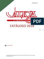 Caliga Catalogo 2018