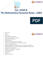 Bhc the Factrories Act 1948 and Mfr 1963 25052013