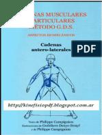 cadenas musculares método GDS.pdf