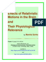 Mariela Szirko-Effects of Relativistic Motions in the Brain and Their Physiological Relevance-Offprint MIT Press 2008
