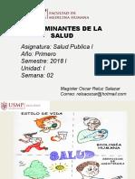 Determinantes de La Salud 2018