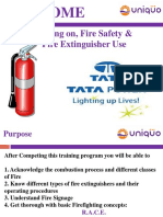 Fire Safety Training Tata Power 19-09-2016