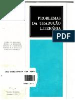 LIVRO Problemas de Trad Literária.