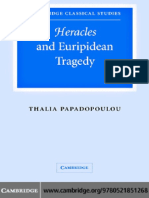 Thalia Papadopoulou-Heracles and Euripidean Tragedy