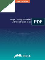 Pega 7.4 High Availability Administration Guide