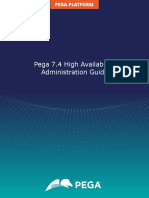 Pega 7.4 High Availability Administration Guide