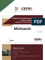 Medición de la Pobreza Michoacán