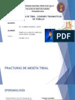 Seminario - Fx de Tibia y Lesiones Traumaticas Del Tobillo