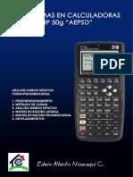 Análisis Sísmico Estático Pseudotridimensional HP50g