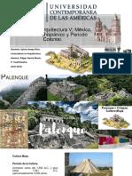 Zona Arqueológica de Palenque Chiapas-México.