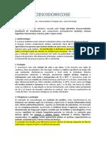 PARACOCCIDIOIDOMICOSE.docx