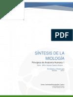 Síntesis de La Miología