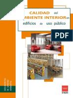 Calidad Del Ambiente Interior en Edificios de Uso Publico