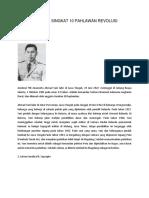 Biografi Singkat 10 Pahlawan Revolusi