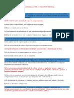01 - GABARITO - Etica Profissional- LEYLA
