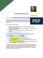 Educación Bilingüe en Europa