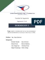 DISEÑO Y CONSTRUCCIÓN VIGA F'c=240 kg/cm2