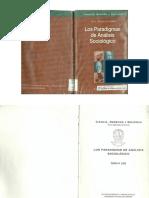 Libro LOS PARADIGMAS DE ANALISIS SOCIOLOGICO