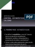 3. Control Estadistico de La Calidad