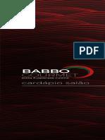 Card a Pio Babbo Gourmet Salao 4