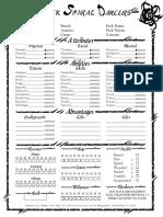 BSD Character Sheet