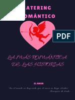 Brochure Catering Romántico