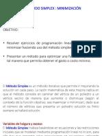 2.6 Metodo Simplex Min