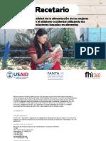 Fanta Recetario Rbas Guatemala Recipe Book Dec2017