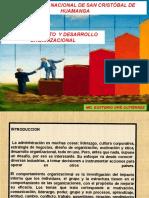 Comportamiento y Desarrollo Organizacional