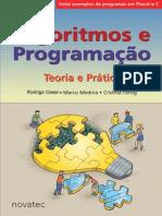 Algoritmos e Programacao Teoria e Pratica Rodrigo Cesar Marco Medina Cristina Fertig
