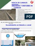 1.1 Flujo Uniforme Canales