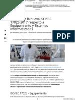 IEC 17025_2017 Respecto a Equipamiento y Sistemas Informatizados - OQOTECH - Procces Validation System