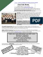 Cox News Volume 8 Issue 12