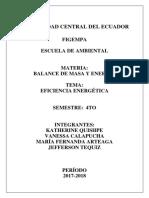 Informe Técnico ENERGIA