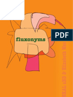 Fluxonyms by Elizabeth Was & mIEKAL aND