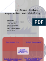 Global Population and Mobility