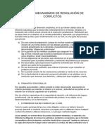 Tema 1. Mecanismos de Resolucion de Conflictos