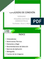 Topologías de Conexion para PCHS