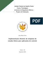 Implementação Eficiente de Máquinas de Estados Finitos Para Aplicações de Controle