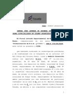 Acusación Fiscal Contra Balcedo